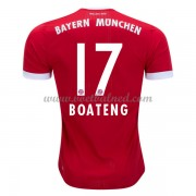 Voetbalshirts Clubs Bayern München 2017-18 Jerome Boateng 17 Thuisshirt..
