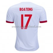 Voetbalshirts Clubs Bayern München 2017-18 Jerome Boateng 17 Third Shirt..