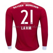 Voetbalshirts Clubs Bayern München 2017-18 Philipp Lahm 21 Thuisshirt Lange Mouw..