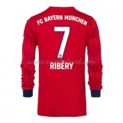 Voetbalshirts Clubs Bayern München 2018-19 Franck Ribery 7 Thuisshirt Lange Mouw..