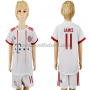 Voetbaltenue Kind Bayern München 2017-18 James Rodriguez 11 Third Shirt..