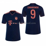 Voetbaltenue Kind Bayern München 2019-20 Robert Lewandowski 9 Third Shirt