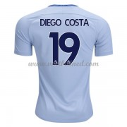 Voetbalshirts Clubs Chelsea 2017-18 Diego Costa 19 Uitshirt..