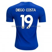 Voetbalshirts Clubs Chelsea 2017-18 Diego Costa 19 Thuisshirt..