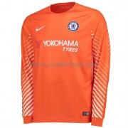 Voetbalshirts Clubs Chelsea 2017-18 Keeper Thuisshirt Lange Mouw..
