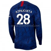 Voetbalshirts Clubs Chelsea 2019-20 Cesar Azpilicueta 28 Thuisshirt Lange Mouw..