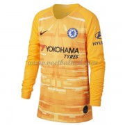 Voetbalshirts Clubs Chelsea 2019-20 Keeper Thuisshirt Lange Mouw..