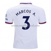 Voetbalshirts Clubs Chelsea 2019-20 Marcos Alonso 3 Uitshirt..