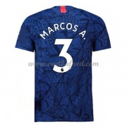 Voetbalshirts Clubs Chelsea 2019-20 Marcos Alonso 3 Thuisshirt..