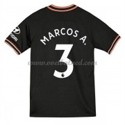 Voetbalshirts Clubs Chelsea 2019-20 Marcos Alonso 3 Third Shirt..