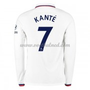 Voetbalshirts Clubs Chelsea 2019-20 NGolo Kante 7 Uitshirt Lange Mouw..