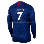 Voetbalshirts Clubs Chelsea 2019-20 NGolo Kante 7 Thuisshirt Lange Mouw..