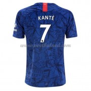 Voetbalshirts Clubs Chelsea 2019-20 NGolo Kante 7 Thuisshirt..