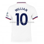 Voetbalshirts Clubs Chelsea 2019-20 Willian Borges da Silva 10 Uitshirt..