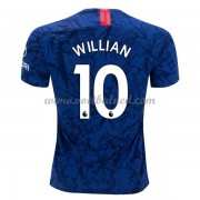 Voetbalshirts Clubs Chelsea 2019-20 Willian Borges da Silva 10 Thuisshirt..