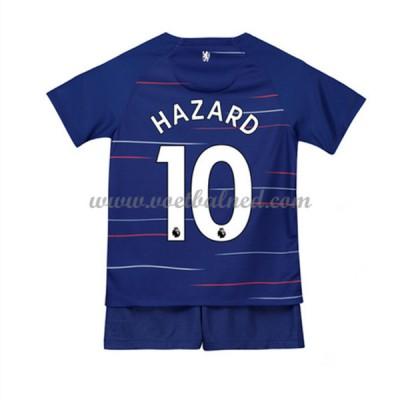 Voetbaltenue Kind Chelsea 2018-19 Eden Hazard 10 Thuisshirt