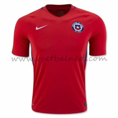 Voetbaltenue Chili Nationale Elftal 2016 Thuisshirt