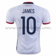 Voetbaltenue Colombia Nationale Elftal 2016 James Rodriguez 10 Thuisshirt..