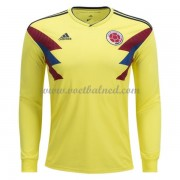 Voetbaltenue Colombia 2018 Thuisshirt Lange Mouw..