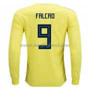 Voetbaltenue Colombia 2018 Radamel Falcao 9 Thuisshirt Lange Mouw..