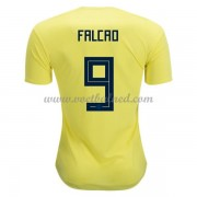Voetbaltenue Colombia 2018 Radamel Falcao 9 Thuisshirt..