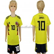 Voetbaltenue Kind Colombia 2018 James Rodriguez 10 Thuisshirt..