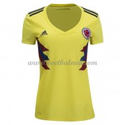Goedkope Voetbalshirts Dames Colombia 2018 Thuisshirt..