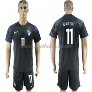 Voetbaltenue Frankrijk 2018 Anthony Martial 11 Third Shirt..