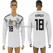 Voetbalshirts Duitsland WK 2018 Joshua Kimmich 18 Thuisshirt Lange Mouw..
