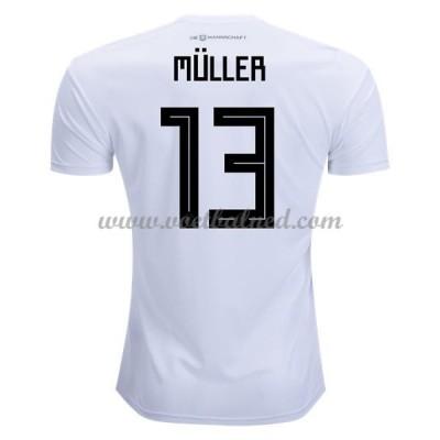 Voetbalshirts Duitsland WK 2018 Thomas Muller 13 Thuisshirt
