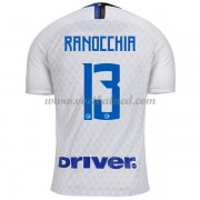 Voetbalshirts Clubs Inter Milan 2018-19 Andrea Ranocchia 13 Uitshirt..