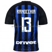 Voetbalshirts Clubs Inter Milan 2018-19 Andrea Ranocchia 13 Thuisshirt..