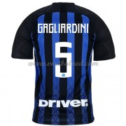 Voetbalshirts Clubs Inter Milan 2018-19 Roberto Gagliardini 5 Thuisshirt..