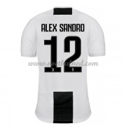 Voetbalshirts Clubs Juventus 2018-19 Alex Sandro 12 Thuisshirt..