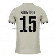 Voetbalshirts Clubs Juventus 2018-19 Andrea Barzagli 15 Uitshirt..