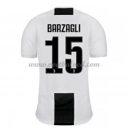 Voetbalshirts Clubs Juventus 2018-19 Andrea Barzagli 15 Thuisshirt..