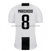Voetbalshirts Clubs Juventus 2018-19 Claudio Marchisio 8 Thuisshirt..