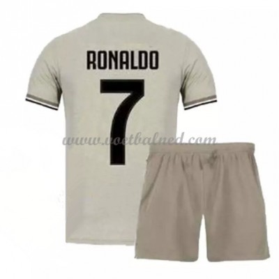 Voetbaltenue Kind Juventus 2018-19 Cristiano Ronaldo 7 Uitshirt