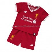 Voetbaltenue Kind Liverpool 2017-18 Thuisshirt