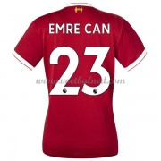 Goedkope Voetbalshirts Dames Liverpool 2017-18 Emre Can 23 Thuisshirt..