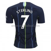 Voetbalshirts Clubs Manchester City 2018-19 Raheem Sterling 7 Uitshirt..