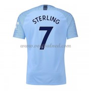 Voetbalshirts Clubs Manchester City 2018-19 Raheem Sterling 7 Thuisshirt..
