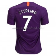 Voetbalshirts Clubs Manchester City 2018-19 Raheem Sterling 7 Third Shirt..
