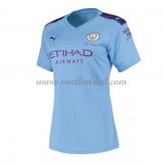 Goedkope Voetbalshirts Dames Manchester City 2019-20 Thuisshirt..