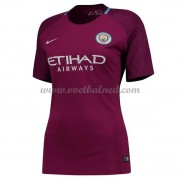Goedkope Voetbalshirts Dames Manchester City 2017-18 Uitshirt..