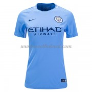 Goedkope Voetbalshirts Dames Manchester City 2017-18 Thuisshirt..