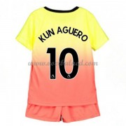 Voetbaltenue Kind Manchester City 2019-20 Kun Aguero 10 Third Shirt