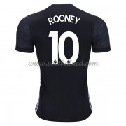 Voetbalshirts Clubs Manchester United 2017-18 Wayne Rooney 10 Uitshirt..