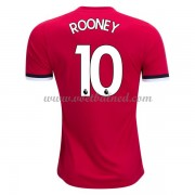 Voetbalshirts Clubs Manchester United 2017-18 Wayne Rooney 10 Thuisshirt..
