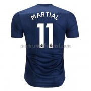 Voetbalshirts Clubs Manchester United 2018-19 Anthony Martial 11 Third Shirt..
